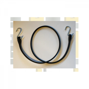 Rubber Strap with S hook